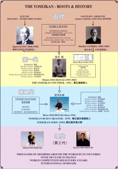 Yoseikan History