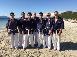Strand mit Kyoshi