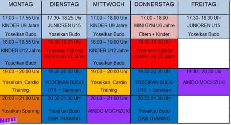 Stundenplan 2015