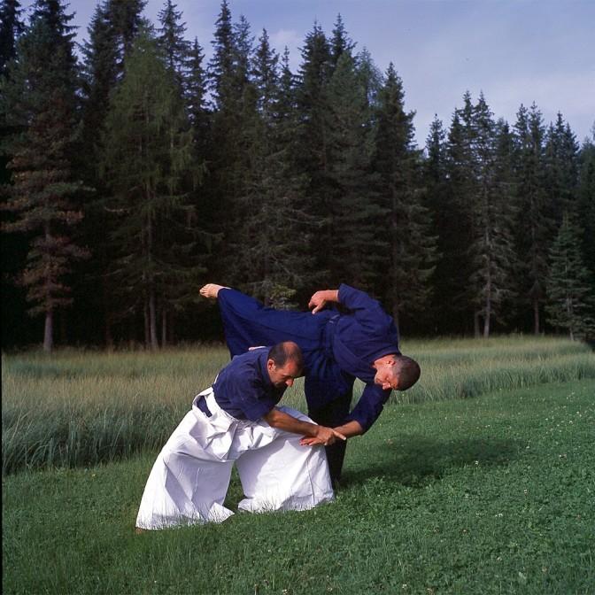 Stage Aikido Mochizuki mit Roman Patuzzi 7 DAN